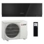 Mitsubishi Klimaanlage R32 Wandgerät Premium MSZ-EF25VGB 2,5 kW I 9000 BTU - Schwarz