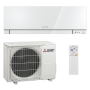 Mitsubishi Klimaanlage R32 Wandgerät Premium MSZ-EF50VGW 5,0 kW I 18000 BTU - Weiß