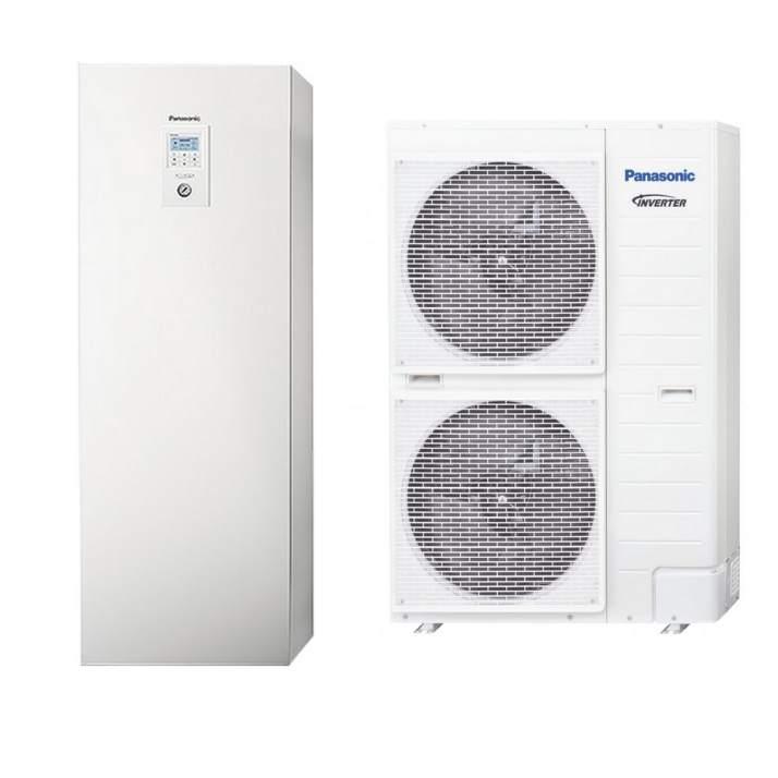 PANASONIC Wärmepumpe Aquarea KIT-ADC9HE8 9 kW