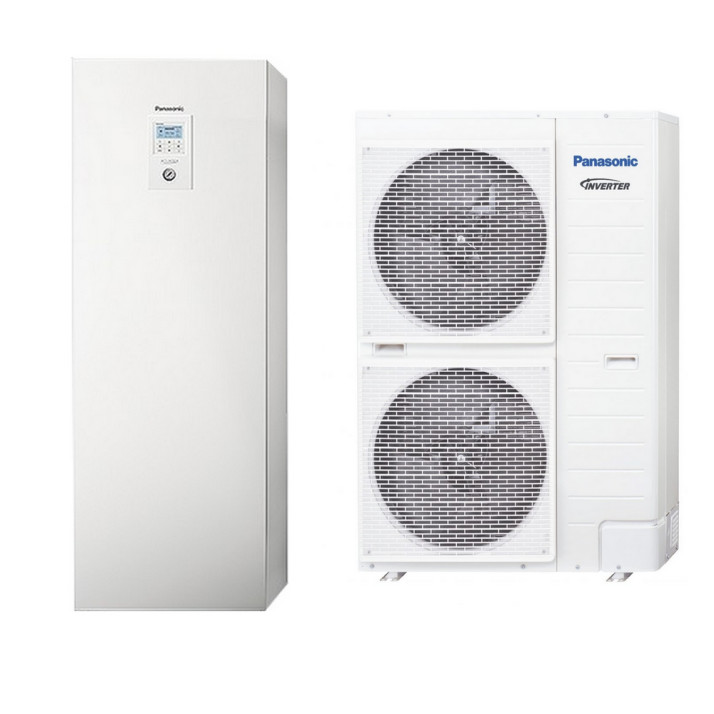 PANASONIC Wärmepumpe Aquarea KIT-ADC12HE8 12 kW