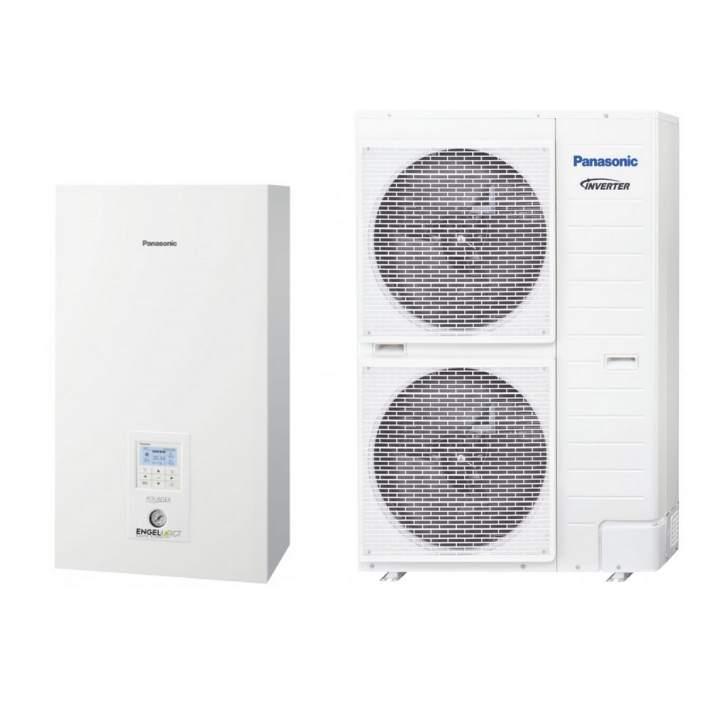PANASONIC Wärmepumpe Aquarea KIT-WXC12H9E8 12 kW