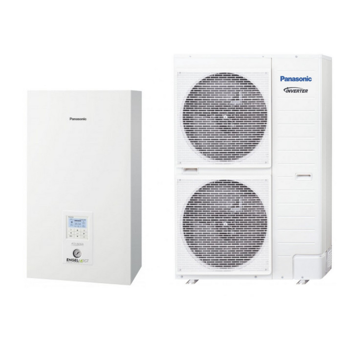 PANASONIC Wärmepumpe Aquarea KIT-WXC16H9E8 16 kW