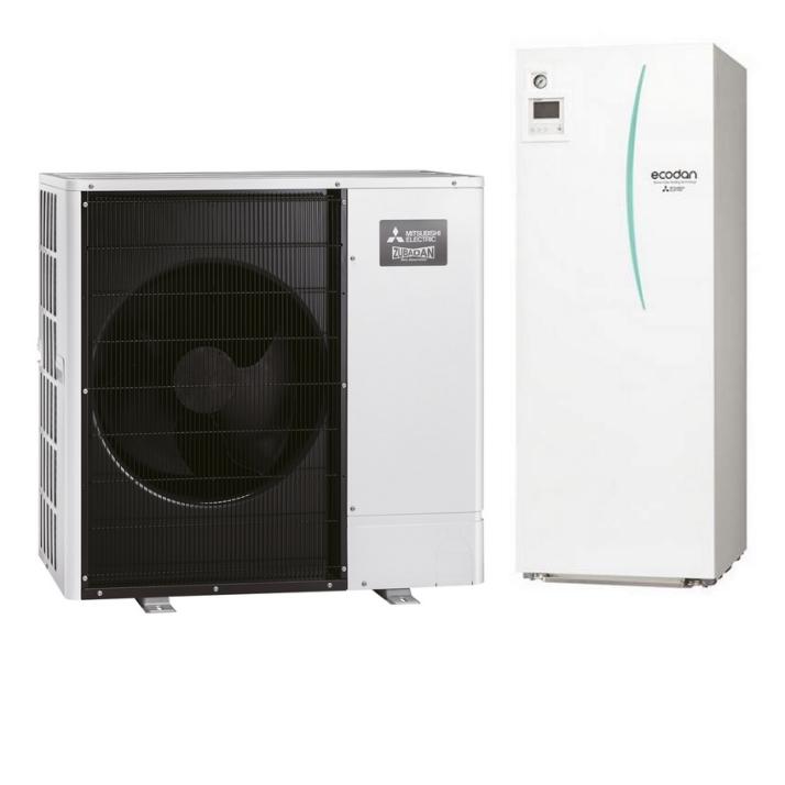 MITSUBISHI Wärmepumpe ECODAN PUD-SHWM120YAA + EHST20D-YM9D 12 kW