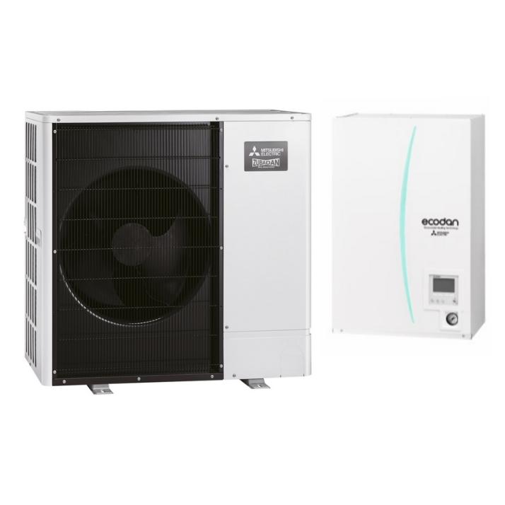 MITSUBISHI Wärmepumpe ECODAN PUHZ-SHW230YKA + EHSC-YM9EC 18,40 kW