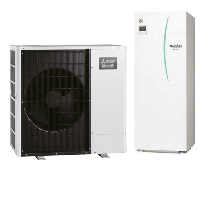 MITSUBISHI Wärmepumpe ECODAN PUD-SHWM120YAA + EHST30D-YM9ED 12 kW