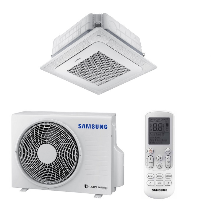 Samsung AC052NNNDKH/EU WIND-FREE Wege-Deckenkassette-Set - 5,0 kW