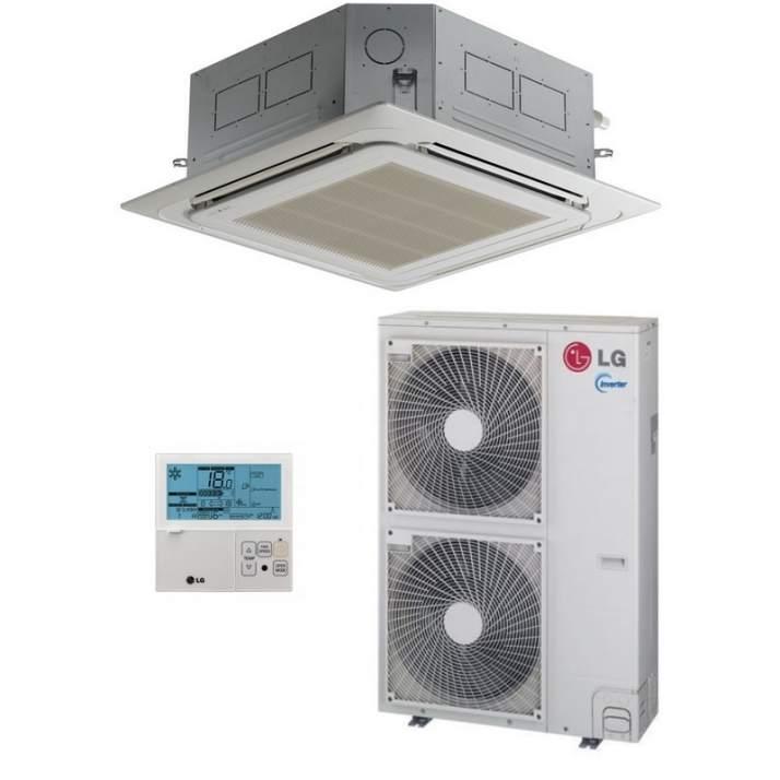 LG Klimaanlage R32 Deckenkassette UT36F 9,5 kW I 36000 BTU