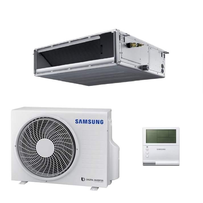 Samsung AC100MNMDKH/EU Kanalklimagerät SET - 10,0 kW 380V