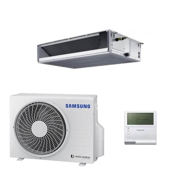 Samsung AC026MNLDKH/EU Kanalklimagerät SET - 2,6 kW