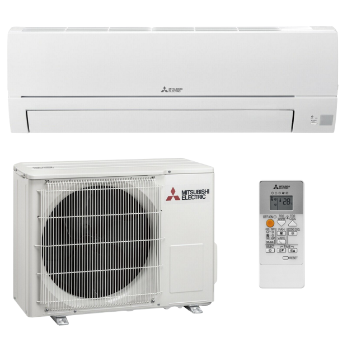 Mitsubishi Klimaanlage R32 Wandgerät Basic MSZ-HR25VF 2,5 kW I 9000 BTU