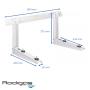 Rodigas MS230 Universal Wandkonsole Halterung für Klimaanlage Klimagerät 120 kg