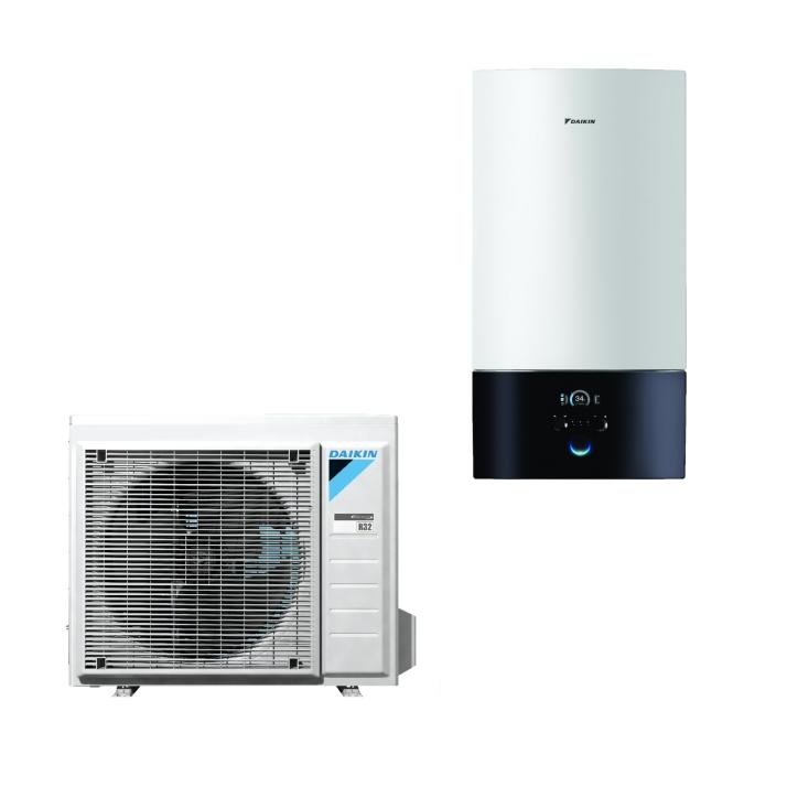 Daikin Wärmepumpe Altherma EHBH08D6V + ERGA08DV 7,5 kW