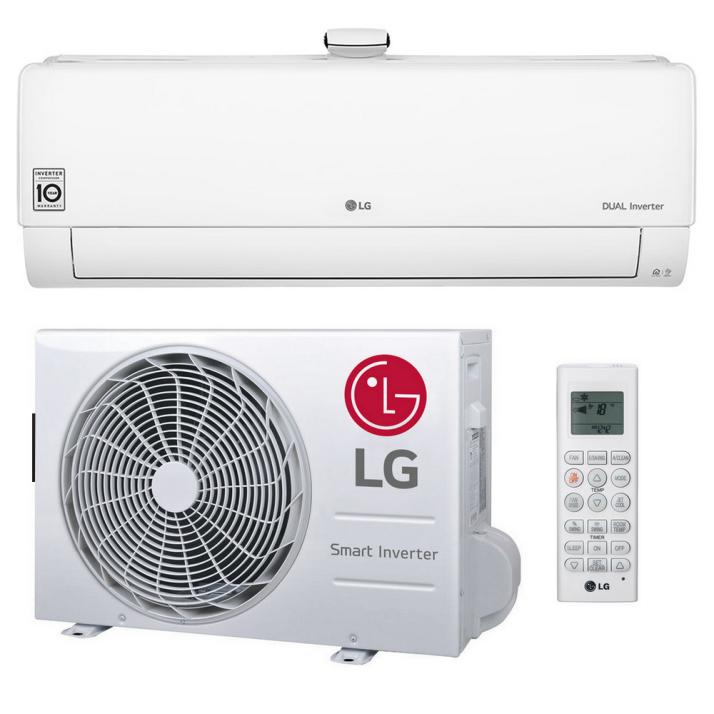 LG Klimaanlage R32 Wandgerät Dual Cool AP09RT 2,5 kW I 9000 BTU