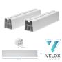 VELOX Bodenkonsole PVC 350 mm