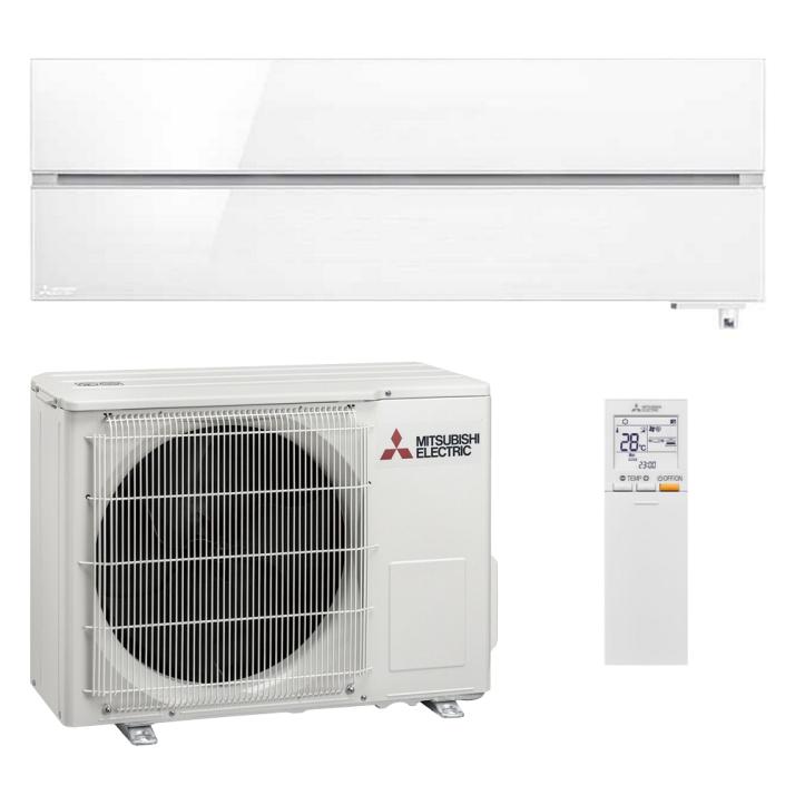 Mitsubishi Klimaanlage R32 Wandgerät Diamond MSZ-LN60VGW 6,1 kW I 21000 BTU - Weiß