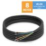 "VELOX Quick Connect 1/4""+3/8"" - 8 Meter"