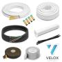 "VELOX Quick Connect 1/4""+3/8"" - 4 Meter"