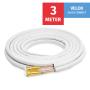 "VELOX Quick Connect 1/4""+1/2"" - 3 Meter"
