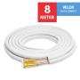 "VELOX Quick Connect 1/4""+1/2"" - 8 Meter"