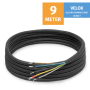 "VELOX Quick Connect 1/4""+1/2"" - 9 Meter"
