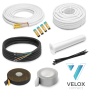 "VELOX Quick Connect 1/4""+5/8"" - 3 Meter"