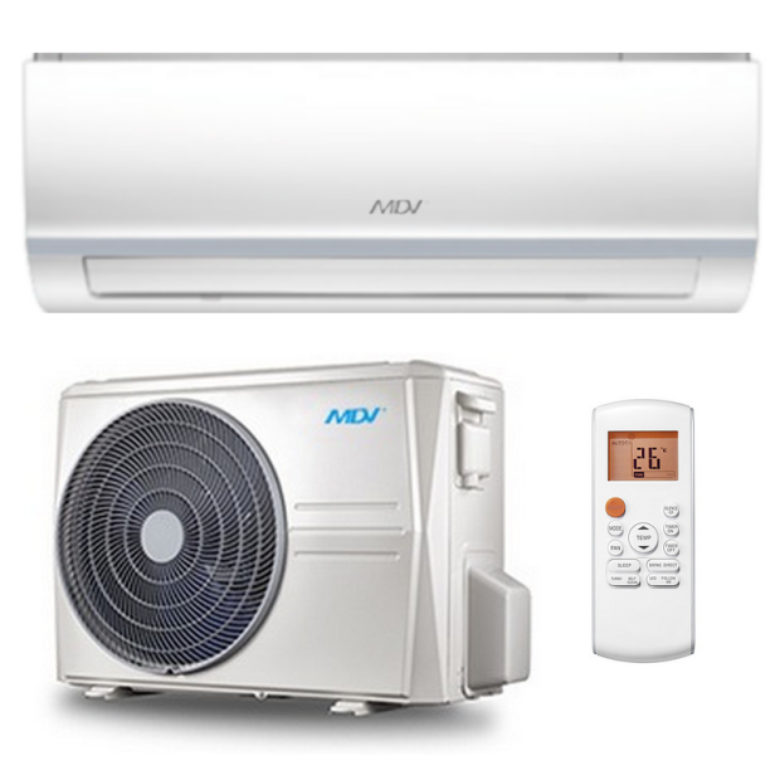 MDV Klimaanlage R32 Wandgerät All Easy ZAE-24N8-A1  7,3 kW I BTU 24000