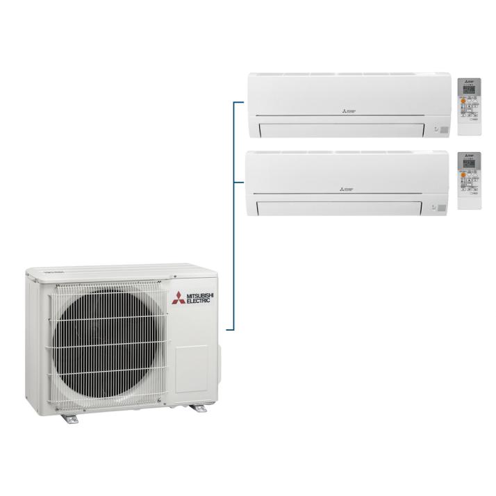 Mitsubishi Klimaanlagen Multi MXZ-2HA50VF - Konfigurator (Innengeräte zur Auswahl)