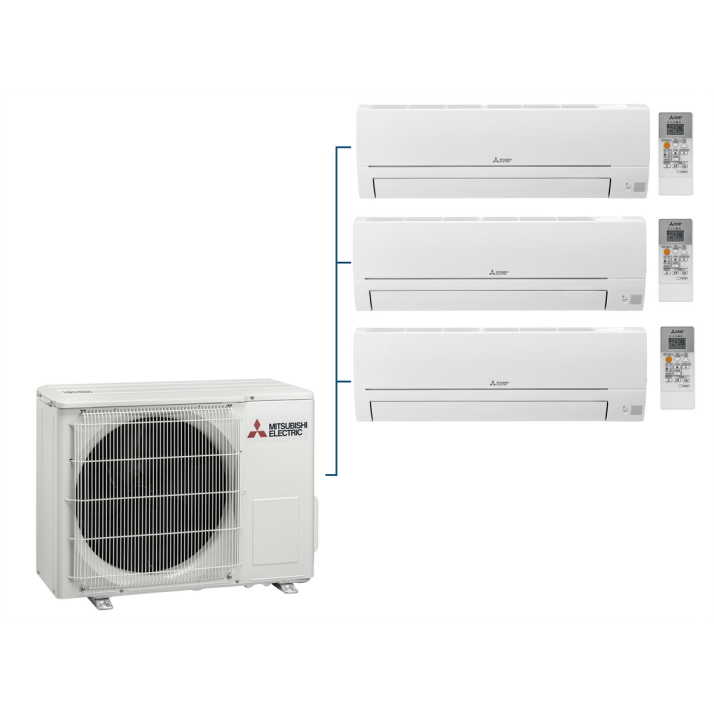 Mitsubishi Klimaanlagen Multi MXZ-3HA50VF - Konfigurator (Innengeräte zur Auswahl)