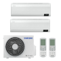 Samsung Wind-Free Comfort 2x AR09TXFCAWKNEU R32 MultiSplit Duo Wandgerät - 2x 2,5 kW I 2x 9000 BTU
