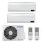 Samsung Wind-Free Comfort 2x AR12TXFCAWKNEU R32 MultiSplit Duo Wandgerät - 2x 3,5 kW I 2x 12000 BTU
